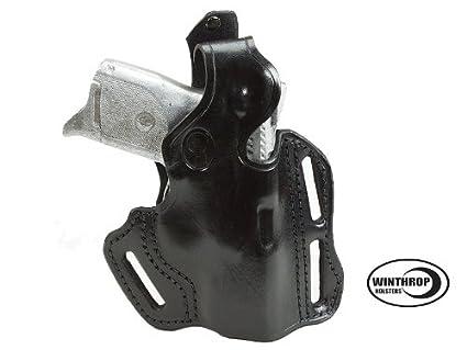 Ruger SR9C OWB 3 slot Thumb Break Holster R/H Black 0080