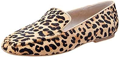 NUDE Women's Kalvin Loafer, Leopard, 10 AU