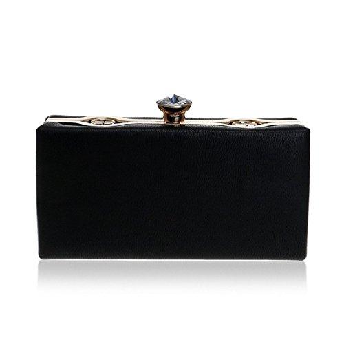 Red Black Color Messenger Ladies Clutch KERVINFENDRIYUN Handbags Women's Bag Purse Bags PU Shoulder qvPZ71wUx