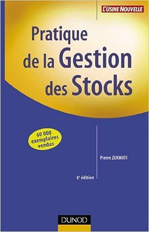 En ligne Pratique de la gestion des stocks pdf epub