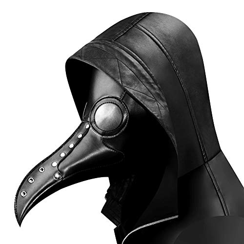 - MARYYUN Plague Bird Doctor Mask, Goggles Gothic Mask, Steampunk Mask Masquerade, Halloween Props Handmade Leather Multi-Style Shoulder Bag (Color : 17)