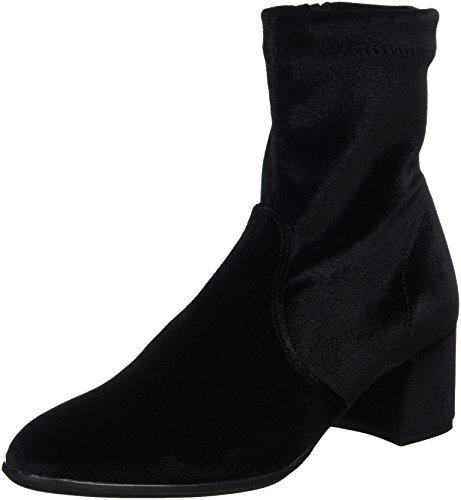 Nr Rapisardi Damen F901 Stiefel Schwarz (velluto Nero / Velluto Nero)