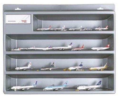 Herpa 519588 - Schaukasten Größe 3 für Wings Modelle 1:500, silber