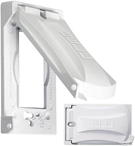 Waterproof Switch Cover Indoor Lockable Outlet Protective Weatherproof