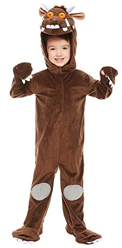 Girls Boys Childs Gruffalo Monster TV Movie Film World Book Day Week Fancy Dress Costume 3-10 Years (8-10 Years) Brown -