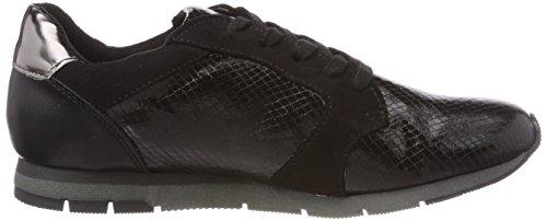 23617 Tamaris Sneakers Femme black Basses Comb Noir z4yvBwqcS4