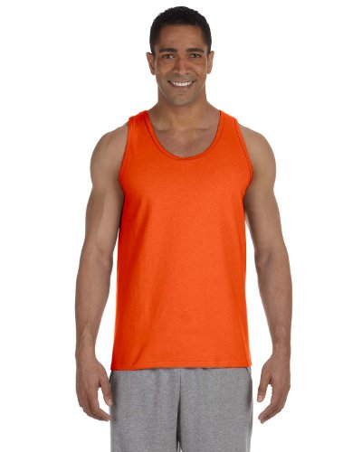 Gildan 2200- Classic Fit Adult Tank Top Ultra Cotton - First Quality - Orange - Medium