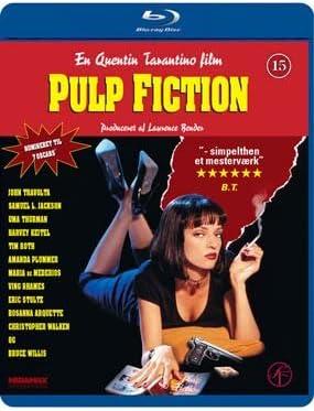 Pulp Fiction 1994 Blu Ray Region 2 Import Amazon Co Uk John Travolta Samuel L Jackson Bruce Willis Uma Thurman Eric Stoltz Ving Rhames Tim Roth Amanda Plummer Rosanna Arquette Quentin Tarantino Dvd Blu Ray