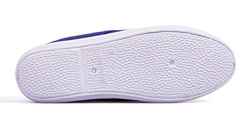VenusCelia Damen Champion Original Canvas Sneaker Königsblau / Saphir