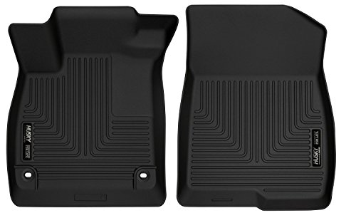 Husky Liners 52781 Black Front Floor Liners Fits 18-18 Accord