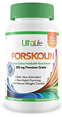 #1 Best PURE FORSKOLIN FOR WEIGHT LOSS + Premium Coleus Forskohlii 250 mg Fat Burner + Powerful Diet Pills That Work For Men & Women to Lose Weight Fast, Increase Metabolism & Eliminate Mood Swings