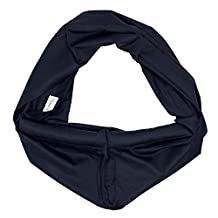 abcGoodefg Dark Blue Cotton Baby Toddler Sling Carrier Wrap Pouch NEW