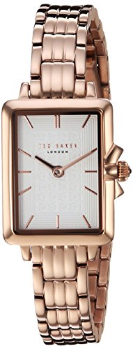 Ted Baker Women's 'TESS' Quartz Stainless Steel Casual Watch, Color:Rose Gold-Toned (Model: TE50271009)