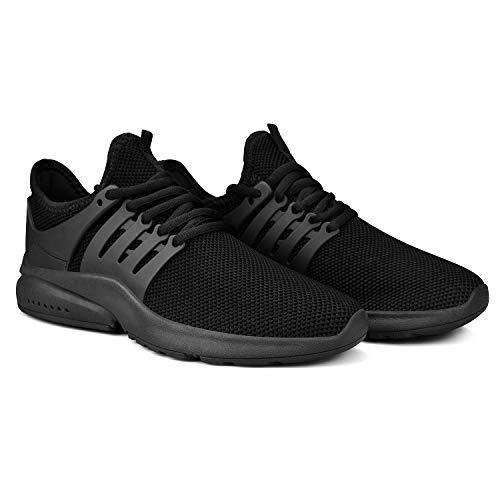 Feetmat Men's Non Slip Gym Sneakers Lightweight Breathable Athletic Running Walking Tennis Shoes 6