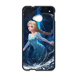 Happy Frozen Princess Elsa Cell Phone Case for HTC One M7