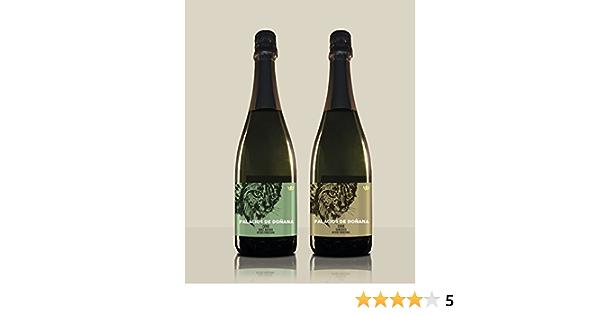 Pack 2 botellas de Cava - Cava Semiseco + Cava Brut Nature - Palacios de Doñana - DO Condado de Huelva