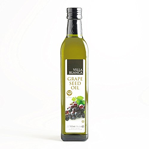 Villa Blanca Grape Seed Oil 17 oz each (1 Item Per Order, not per case) by Villa Blanca