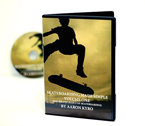 Skateboarding Made Simple Vol 1 On DVD From Braille Skateboarding by Aaron Kyro - Learn How To Master The Basics
