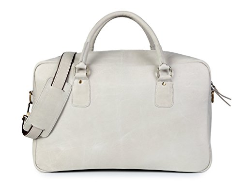 CHRA LEATHER  Herbert Grey, Borsa Messenger  grigio Grey