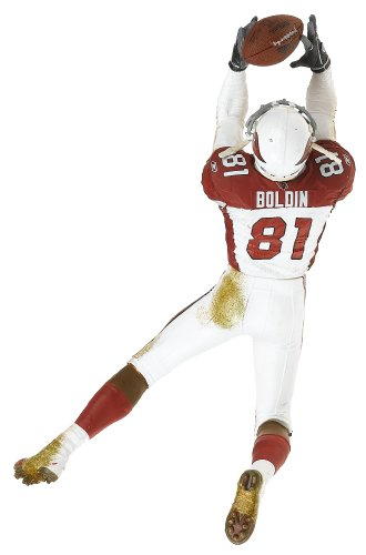McFarlane Toys NFL Sports Picks Series 12 Action Figure Anquan Boldin Arizona Cardinals White Red Jersey