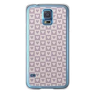 Loud Universe Samsung Galaxy S5 Love Valentine Printing Files A Valentine 116 Printed Transparent Edge Case - Grey/Purple