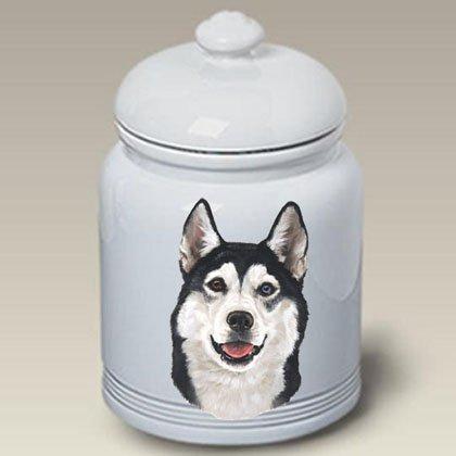 Siberian Husky - Linda Picken Treat Jar - Siberian Husky Treat Jar