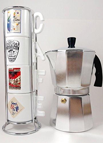 Imusa Classic Aluminum Stovetop Espresso