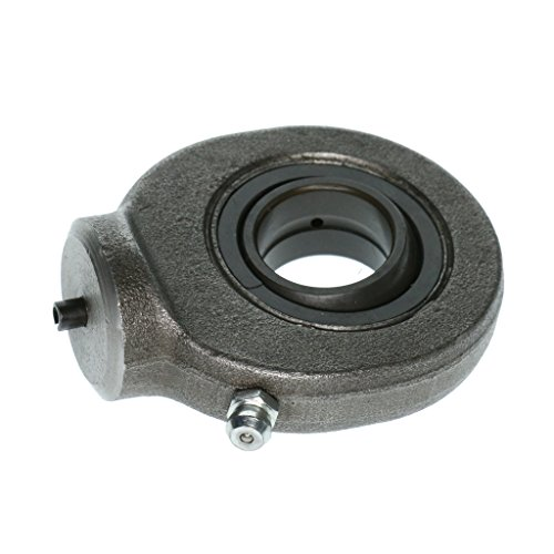 Baoblaze 20mm High-Carbon Steel Rod End Oil Welding Type Joint Bearing Cylinder Earrings for Hydraulic Component