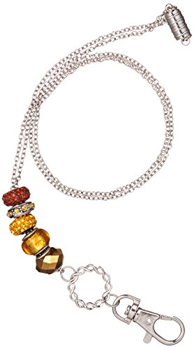 Cherokee Women's Bling ID Eye Glass Lanyard, Gold, One - 2015 Fashion Eyeglasses