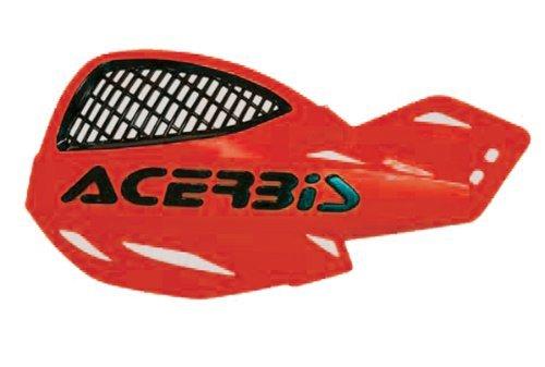 Flag Acerbis - Acerbis 2072670004 vented uniko handguards (red) (2072670004)