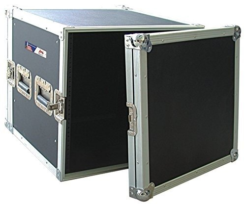 Audio Dynamics Pro DJ ATA Amp Rack Flight Road Travel Case For Audio Equipment - 20'' Inside Depth - AR-10 by Audio Dynamics