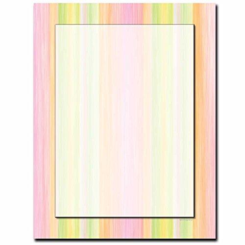 Sherbert Stripes Letterhead Laser & Inkjet Printer Paper, 100 pack