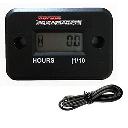 Hour meter hook up