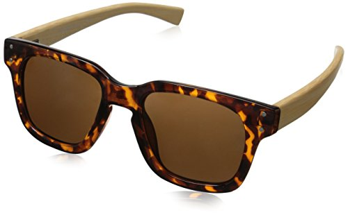 Peepers Women's Ahead of The Curve 2054 Rectangular Sunglasses, Tortoise, 49 - Peepers Sunglasses