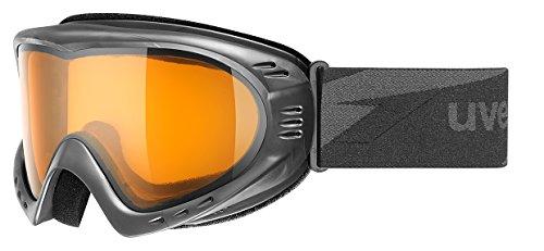 UVEX Cevron Lgl Lunettes de ski, Black Mat, One sizesize