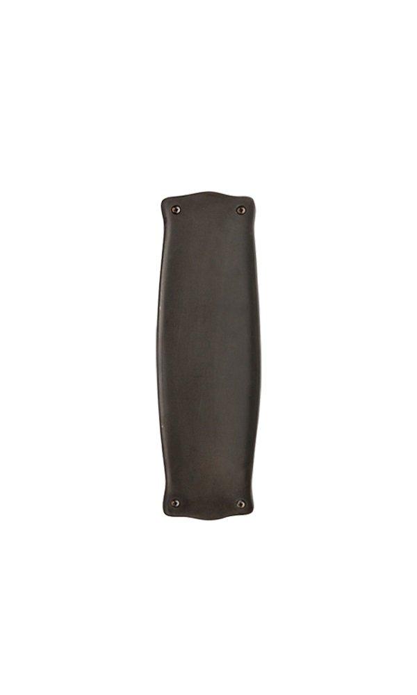 Nostalgic Warehouse Prairie Push Plate, Oil-Rubbed Bronze