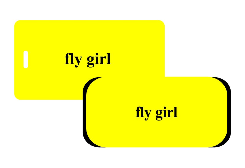 fly girl - Wrap/Tag Set