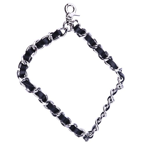 Clutch Pouch Bag Sharplace Chain described 200mm Metal Black Wrist as Replacement silver Silver Purse Leather Handbag Strap white Wristlet Phone PU for Case x6vxgqfS