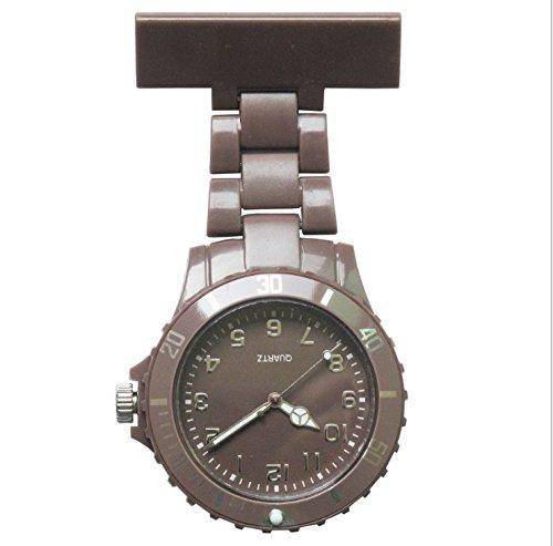 srov fidy ardore al quarzo acciaio inossidabile orologio da tasca infermiera orologio da tasca infermiera con spilla medico orologio da tasca SROVFIDY