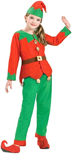 Elf Christmas Costumes (Forum Novelties Children's Simply Elf Costume)