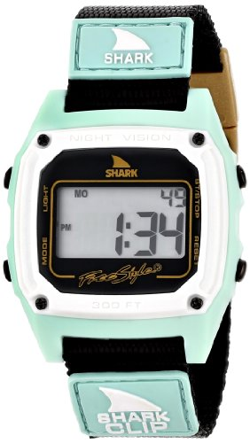- Freestyle Men's 103326 Shark Classic Clip Digital Display Japanese Quartz Black Watch