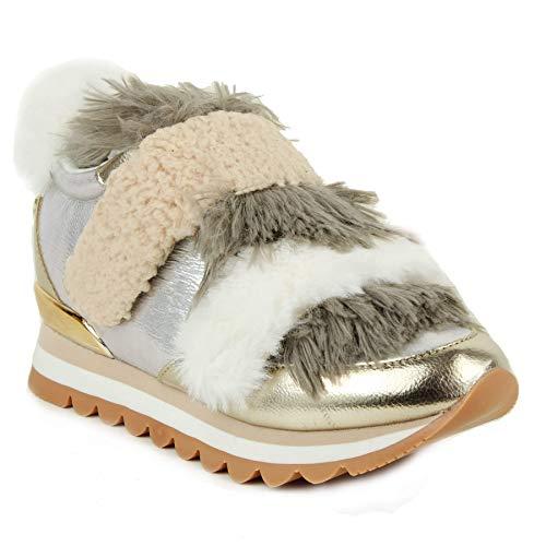Gioseppo 46068 Sneakers Fourrure Beige beige wt6zr8x6Xq