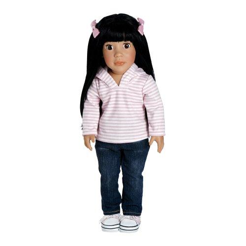 Adora Girl Play Doll 18″ Ava Ready For Fun – Black Brown Eyes, Baby & Kids Zone