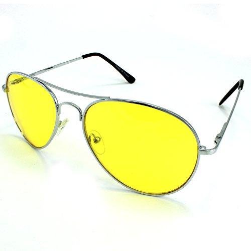 Enimay Mens The Hangover Bradley Cooper Colored Aviator Poker Sunglasses - The Hangover Cooper Bradley