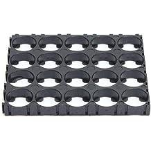 YEHAM 4x5 Cell Spacer 18650 Lithium Battery Plastic Holder Bracket (5pc)