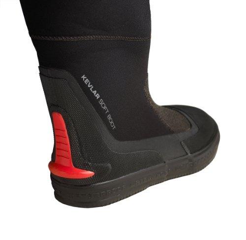 Waterproof D1 Hybrid Scuba Diving Drysuit Boot (Pair) - SIze 32/US 14-15 - WP-DRYBOOT-D1-32 ()