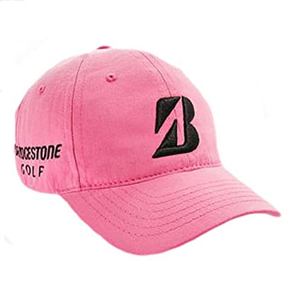Amazon.com  Bridgestone Tour Relax Cap (PINK) Couples Collection ... 2f1d34ec350