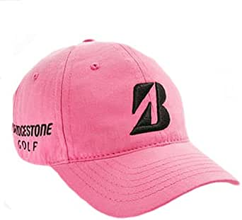 Bridgestone Tour Relax Cap (Pink) Couples Collection B330 Golf Hat