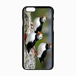 Customized Back Cover Case For iPhone 6 Hardshell Case, Black Back Cover Design 4.7inch Bird Personalized Unique Case For iPhone 6