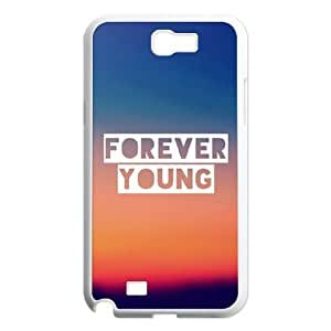 DIY Case Cover for Samsung Galaxy Note 2 N7100 with Customized Forever Young WANGJING JINDA
